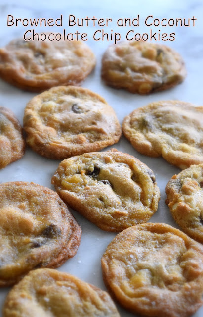 Gluten Free Browned Butter and Coconut Chocolate Chip Cookies ...